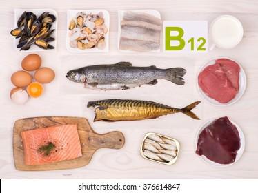 Vitamin B12 containing foods