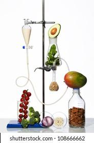 vitamin laboratory vegetable health