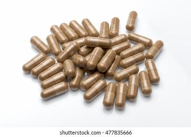 Vitamin pills, capsules