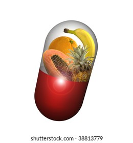 vitamins c capsule