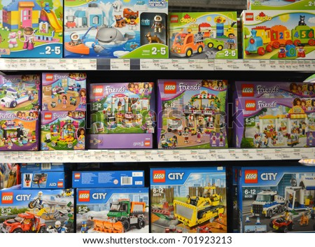 Vitebsk Belarus August 172017 Different Types Lego Stock Photo Edit