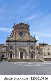 Viterbo Cathedral (Cattedrale di San Lorenzo) in Viterbo, Italy