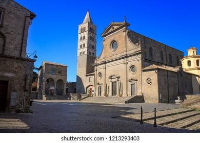 Viterbo Cathedral (Italian: Duomo di Viterbo, or Cattedrale di San Lorenzo) is a Roman Catholic cathedral