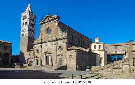 Viterbo Cathedral (Italian: Duomo di Viterbo, or Cattedrale di San Lorenzo) is a Roman Catholic cathedral (Lazio, Italy)