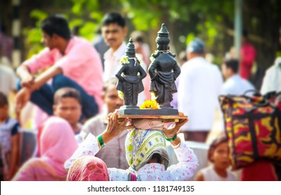 Vitthal Rahumai Hindu Gods