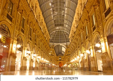 Vittorio Emanuele gallery taken in Milan, Italy
