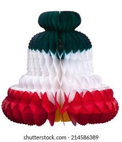 viva mexico - mexican bell independence - camapana decoracion fiesta mexicana