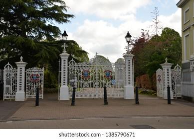 Vivary Park in Tauton, United Kingdom, Europe
