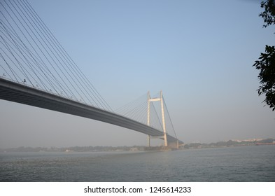 Vivekanand Bridge Connecting Howrah with kolkata city.