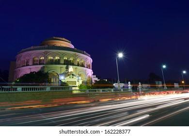 Vivekananda house at dusk