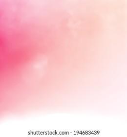 vivid bokeh blur background