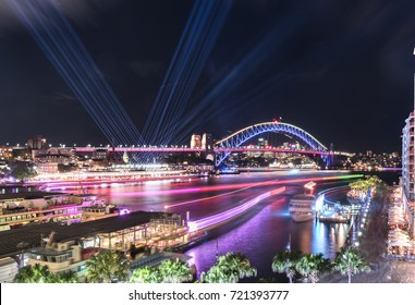 Vivid Sydney - Circular Quay