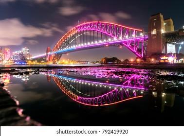 Vivid Sydney - Harbour Bridge