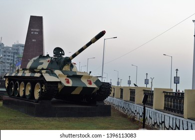 Vizag, Andhra Pradesh, India- January 27, 2015 : 1971 Victory at sea monument