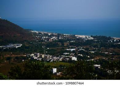 Vizag coast line