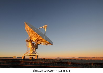 VLA radio telescope in New Mexico USA