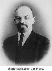 Vladimir Ilyich Ulyanov Lenin, 1916 while in political exile in Switzerland. Possibly taken at the Kienthal Conference an international conference of socialists who opposed the First World War