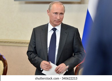 Vladimir Putin at the state Council Presidium meeting, Voronezh, Voronezh region, Russia -  August 5, 2014