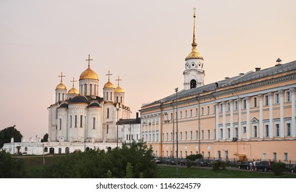 VLADIMIR, RUSSIA - July 28, 2018: Church the Assumption Cathedral