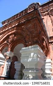VLADIMIR, RUSSIA - MAY 11, 2019: Historical museum of Vladimir city, Russia. Popular landmark.