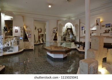 VLADIMIR, RUSSIA - MAY 18, 2018: Inside the City Historical Museum. Founded in 1900