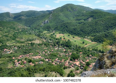 Vlasi small village in the valley of Jerma River, Serbia - Shutterstock ID 1007482378