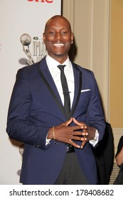 vLOS ANGELES - FEB 22:  Tyrese Gibson at the 45th NAACP Image Awards Press Room at Pasadena Civic Auditorium on February 22, 2014 in Pasadena, CA