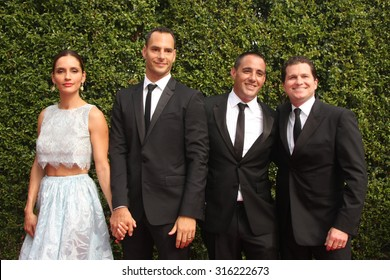 vLOS ANGELES - SEP 12:  Leonor Varela, Lucas Akoskin at the Primetime Creative Emmy Awards Arrivals at the Microsoft Theater on September 12, 2015 in Los Angeles, CA