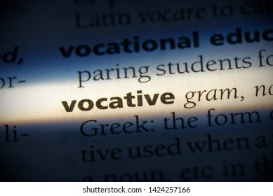 vocative word in a dictionary. vocative concept, definition.