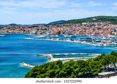 The Vodice resort and island Prvic, Croatia.