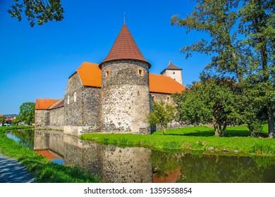 vodni hrad Svihov,Czech republic - Shutterstock ID 1359558854