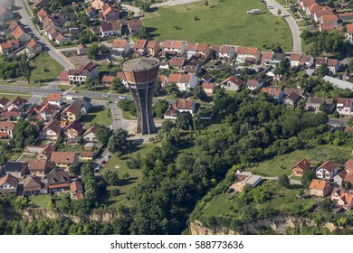 Vodotoranj - Vukovar from the air