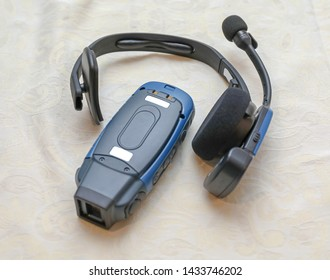 Voice Collect Wireless Headset Device Set For Distribution Warehouse