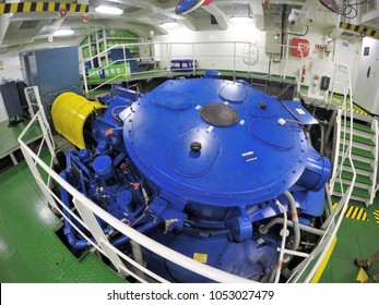 Voith Schneider Propeller Equipped On Dp3 Stock Photo Edit Now 1053027479