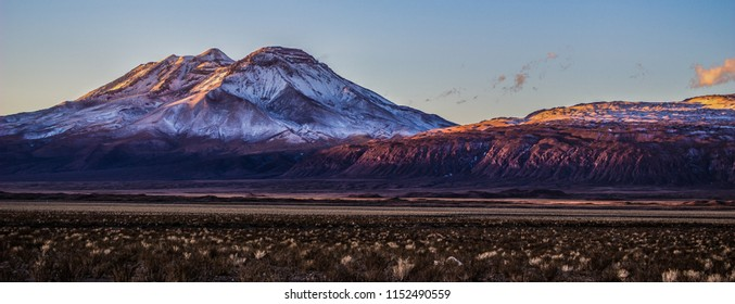 Volcan San Pedro is a volcano in northern Chile and one of the tallest active volcanoes in the world, located in the Atacama Desert (Region of Antofagasta).