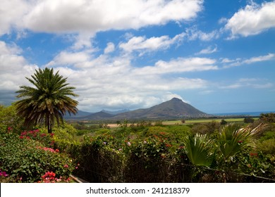 Volcanic landscape at Casela nature park in Mauritius - Shutterstock ID 241218379
