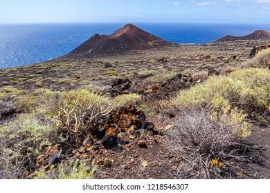 Volcanic Landscape in La Palma, Canary Islands