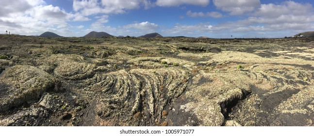 Volcanic landscape of Lanzarote, Canary Islands
