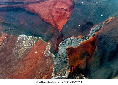 Volcanic rock Tongariro