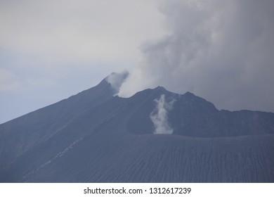 Volcanic in Sakurajima