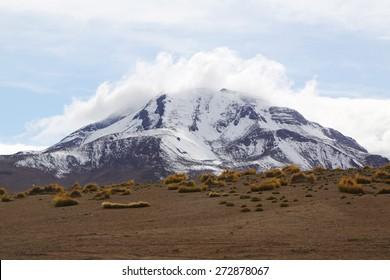 Volcano in Atacama Desert, Chile, South America