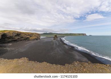 Volcano beach in Iceland