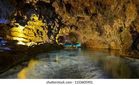 Volcano Cave, Sao Vincente, Madeira