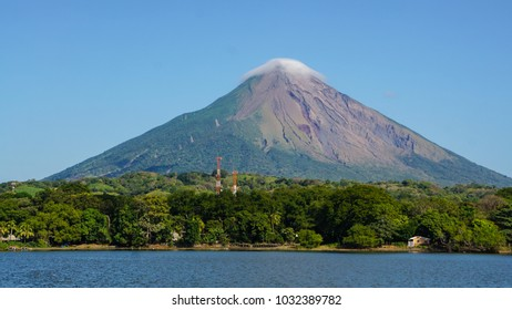 Volcano Concepcion on Ometepe Island in Nicaragua.
