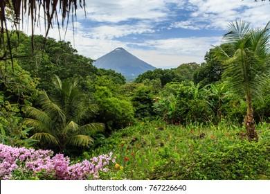 Volcano Concepcion on Ometepe Island in Nicaragua, Central America.