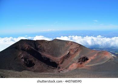 Volcano Etna, Sicily, Italy