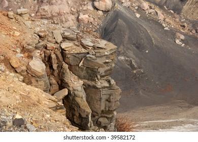 Volcano mark
