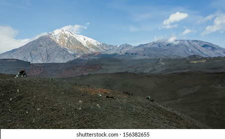 Volcano Ostry Tolbachik and Plosky Tolbachic - Kamchatka, Russia