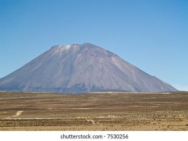 Volcano at Peru