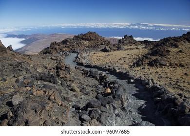 Volcano Pico del Teide, El Teide national park, Tenerife, Canary Islands, Spain